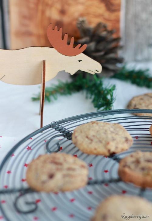 Lebkuchen Schoko Cookies5