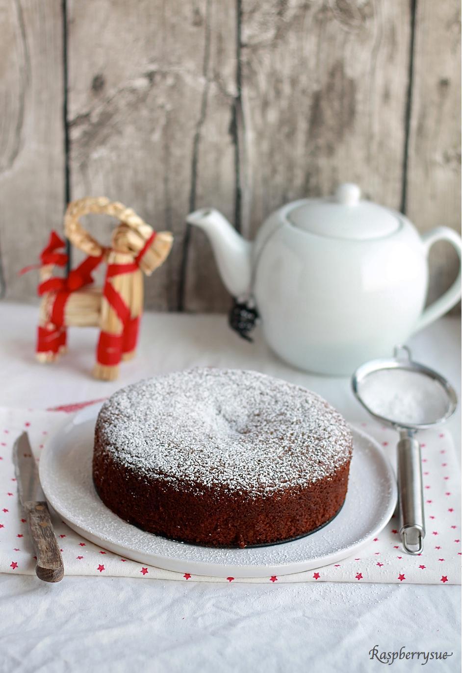 Swedish Christmas Bakery Pfefferkuchen Kuchen Mit Preiselbeeren