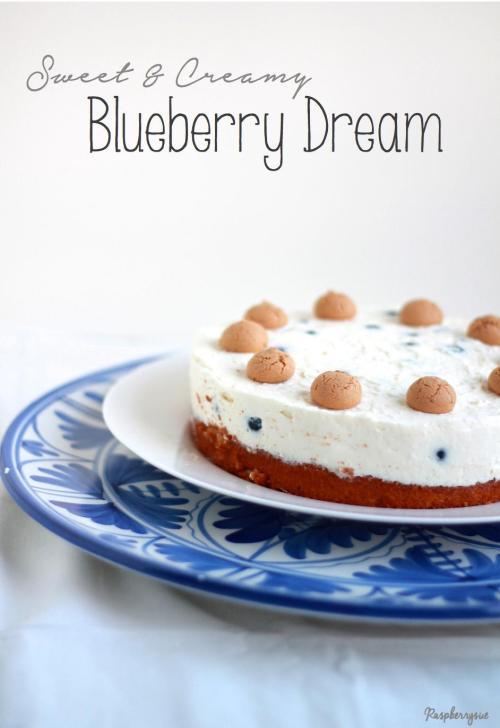 Blaubeer Biskuit Torte1