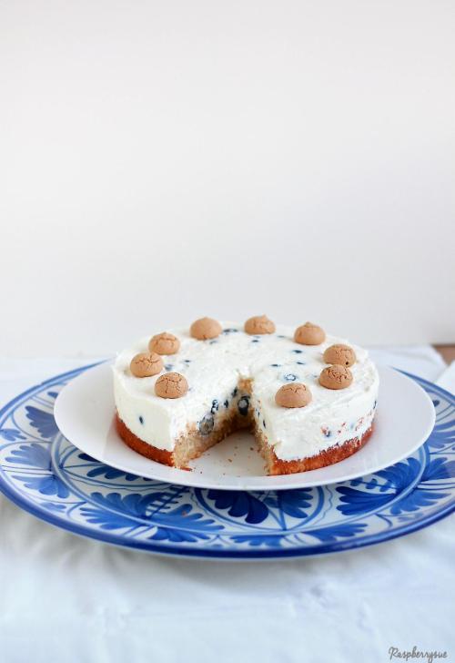 Blaubeer Biskuit Torte2