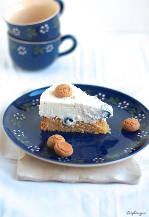 Blaubeer Biskuit Torte5