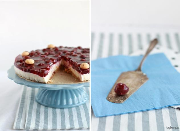 Amarettini Kirsch Torte1