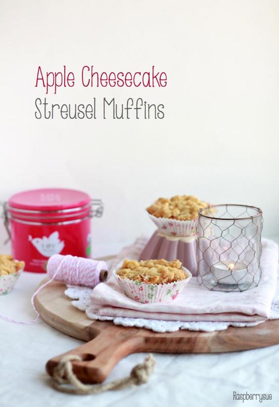 Apple Cheesecake Streusel Muffins2