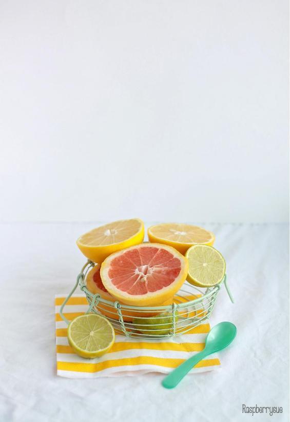 Grapefruit Upside Down Cake