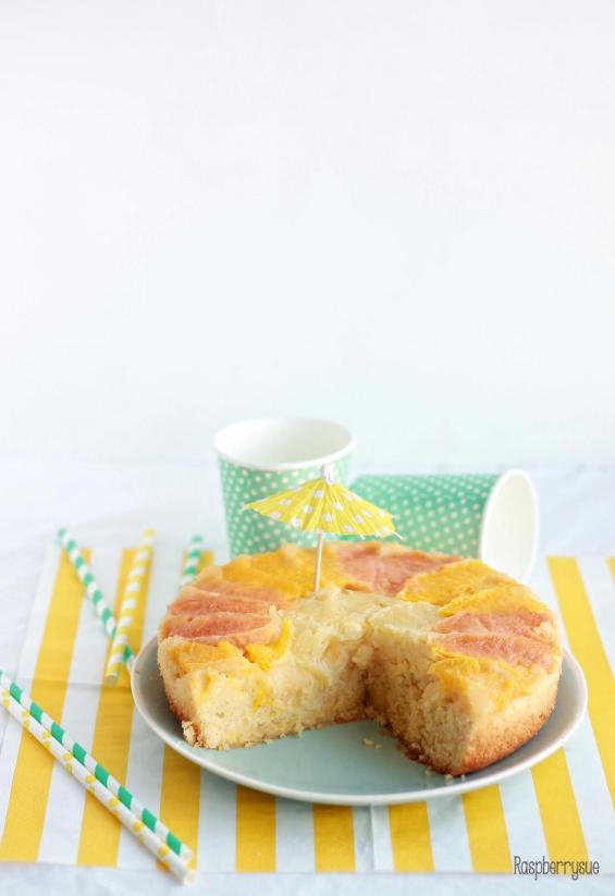 Grapefruit Upside Down Cake4