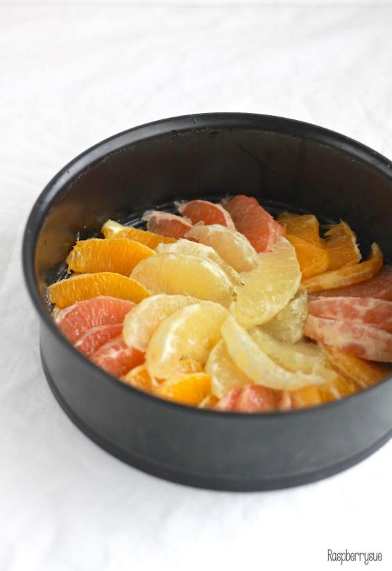 Grapefruit Upside Down Cake5