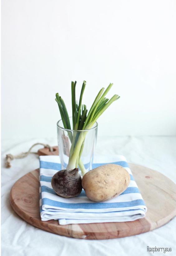Kartoffel Kürbis Beete Salat