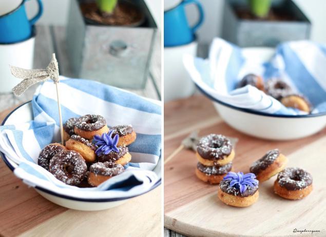 Schoko Mini Donuts