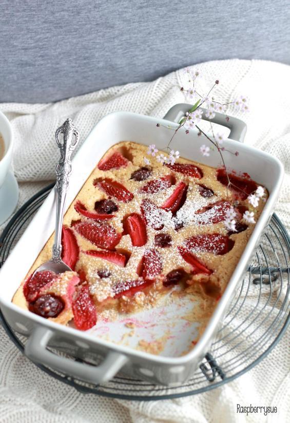 Erdbeer Clafoutis1