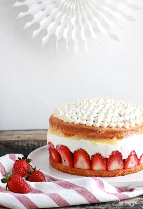 Erdbeer Mascarpone Torte2