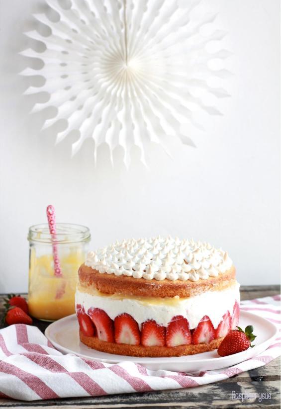 Erdbeer Mascarpone Torte3