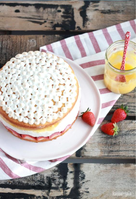 Erdbeer Mascarpone Torte5