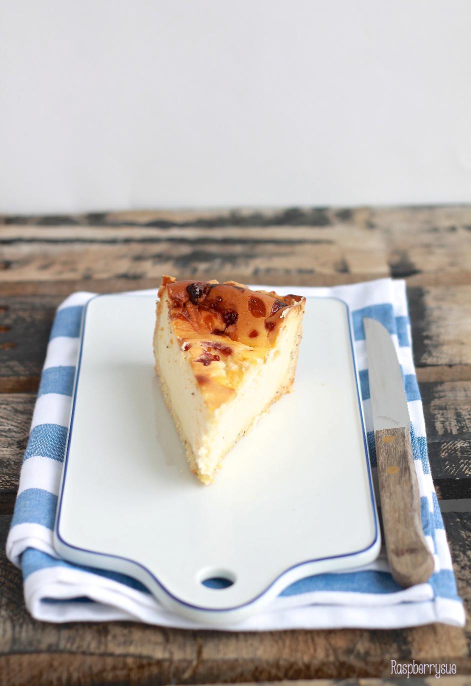 Zweifarbiger Labneh Cheesecake Mit Mohnboden Raspberrysue