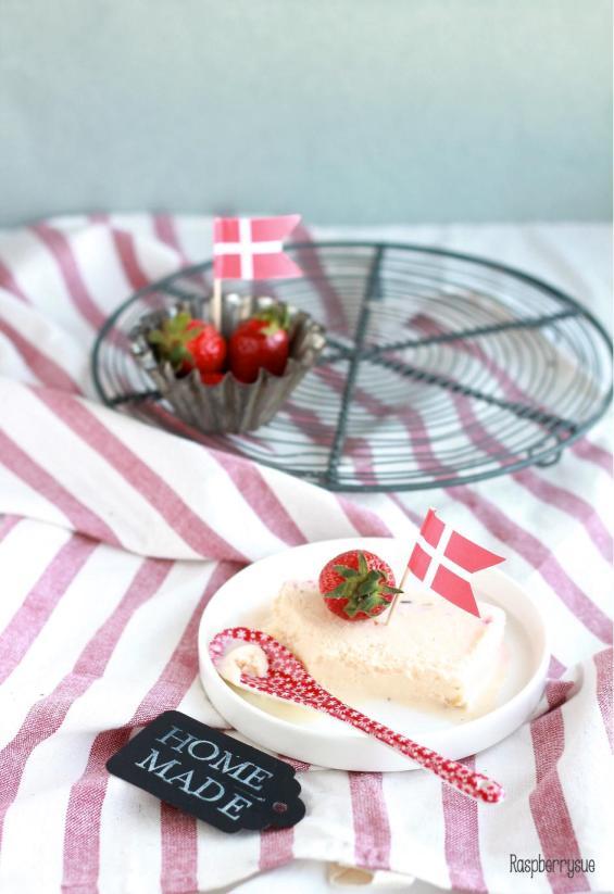 Limetteneis mit Erdbeerswirl4