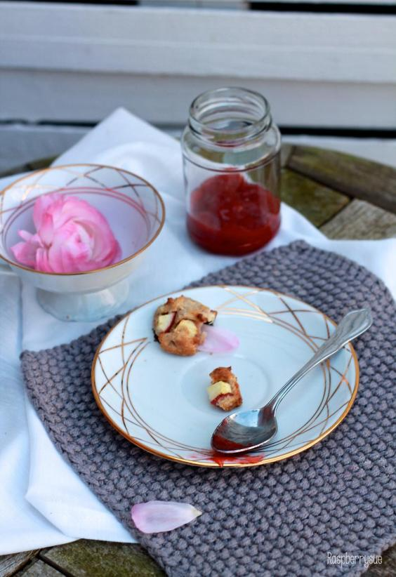 Apfel-Marzipan-Scones