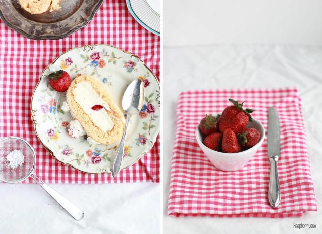 Erdbeer-Biskuitrolle4