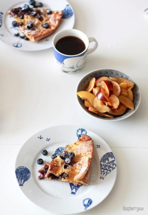 Dutch Blueberry Pancake2