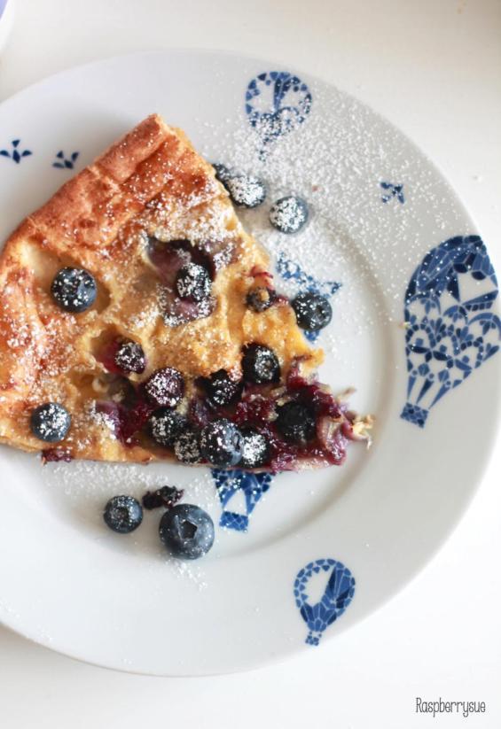 Dutch Blueberry Pancake4