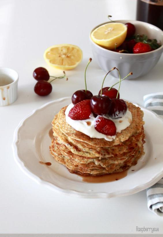 Lemon Poppyseed Pancakes5