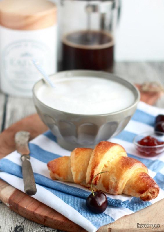 Portugiesische Croissants1