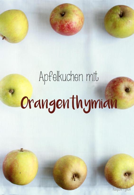 Apfelkuchen mit Orangenthymian1