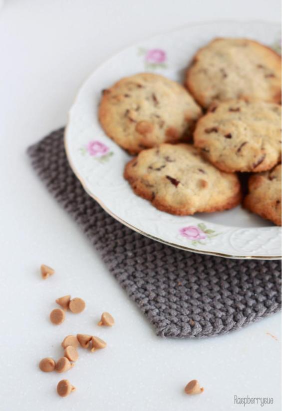 Pecan Erdnuss Cookies