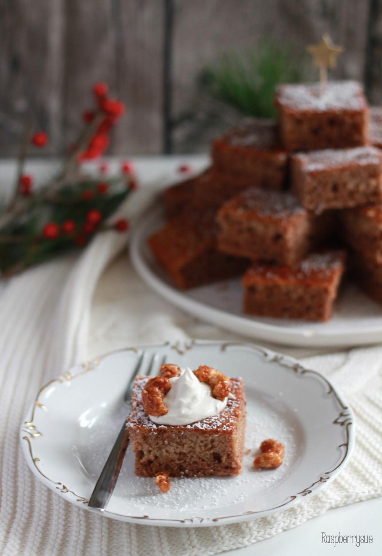 Last Minute Inspiration Lebkuchen Vom Blech Mit Zimtschmand Und