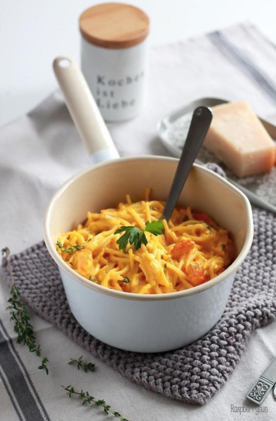 Kürbis Mascarpone Pasta 2
