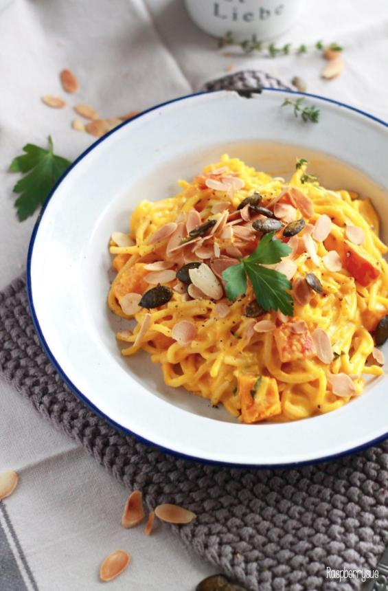 Kürbis Mascarpone Pasta 4