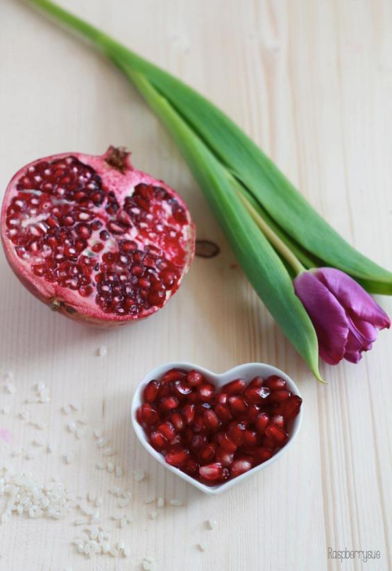 Milchreis mit Früchten