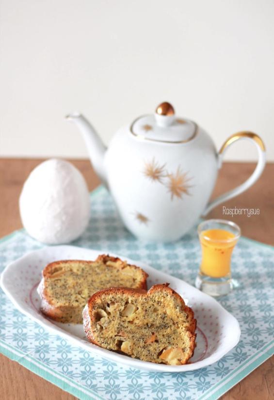 Eierlikör-Apfel-Mohn-Gugelhupf 5