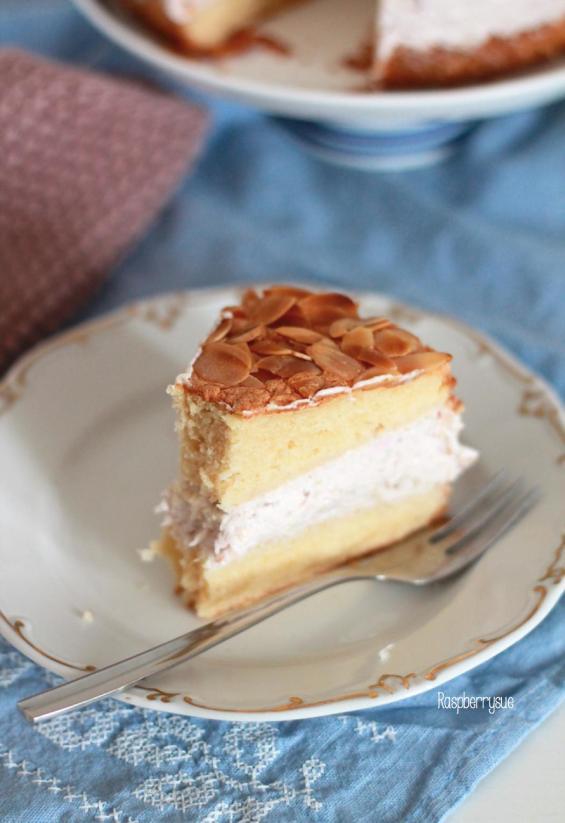 Himbeer-Rhabarber-Torte 1