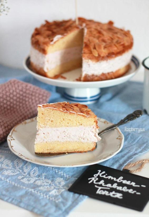 Himbeer-Rhabarber-Torte 2