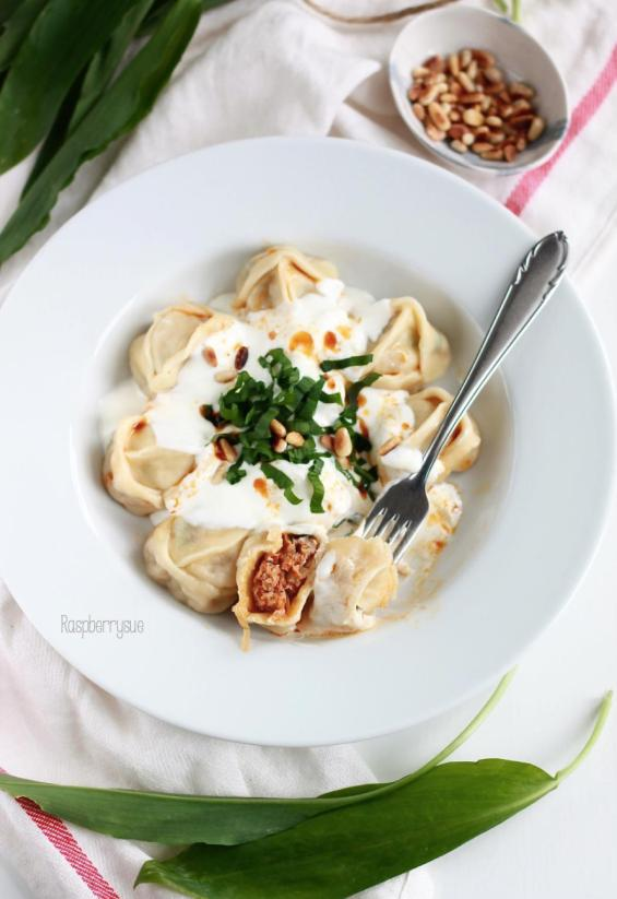Manti in Joghurtsauce 4