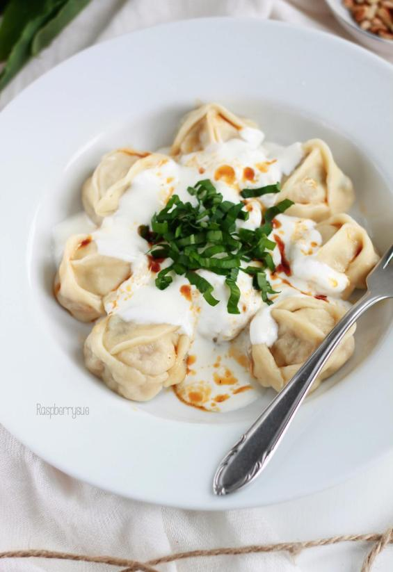 Manti in Joghurtsauce 5