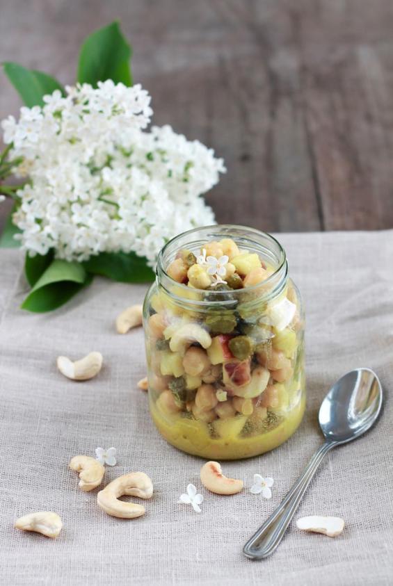 Kichererbsen-Salat 1