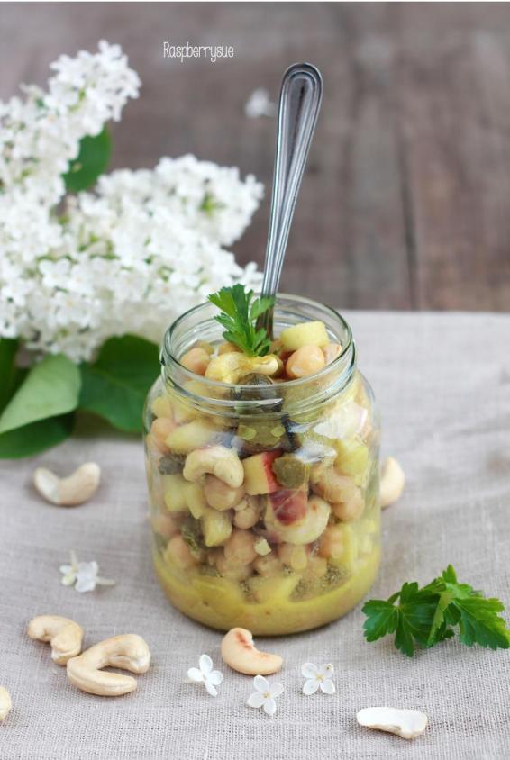 Kichererbsen-Salat 2