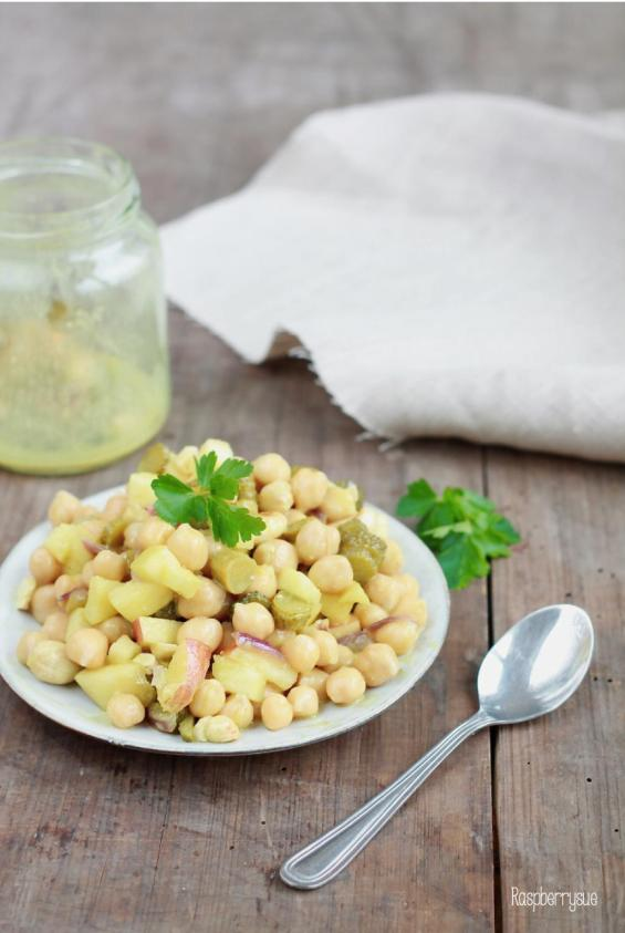 Kichererbsen-Salat 3
