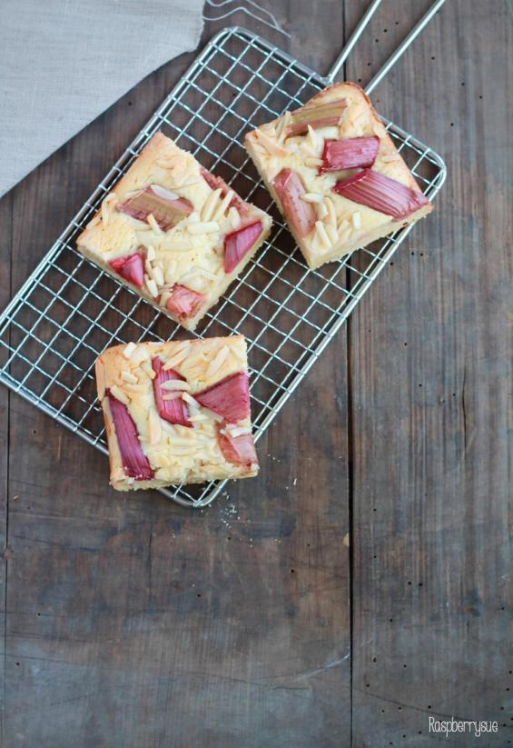 Rhabarber Marzipan Kuchen 2