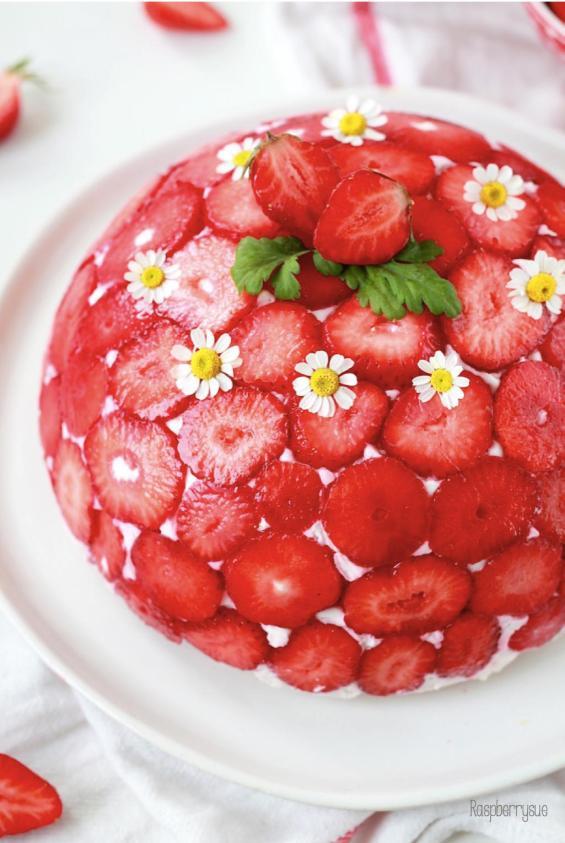 Erdbeer Kuppeltorte 1