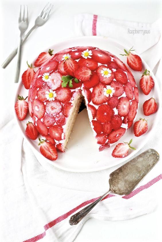 Erdbeer Kuppeltorte 3