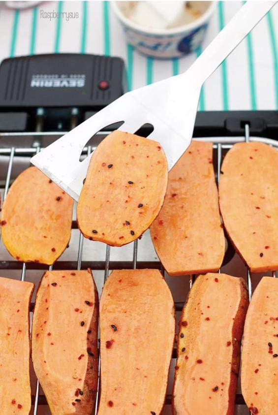 Gegrillte Süßkartoffeln 8