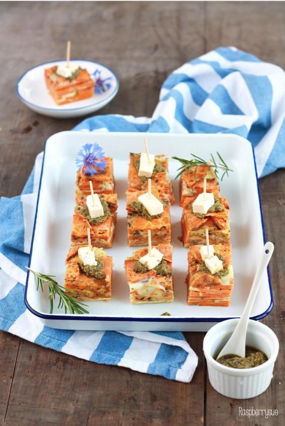 Süßkartoffel Tortilla 2