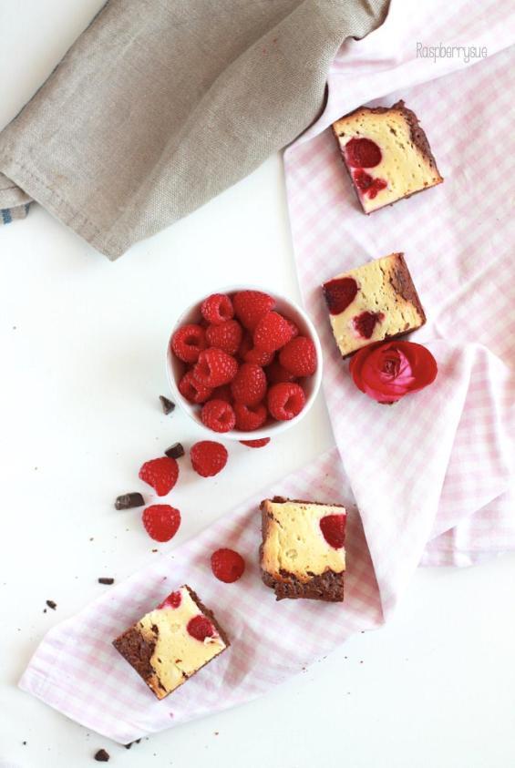 Raspberry Cheesecake Brownies 1