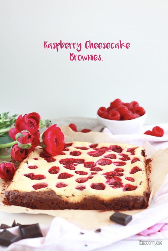 Raspberry Cheesecake Brownies 5
