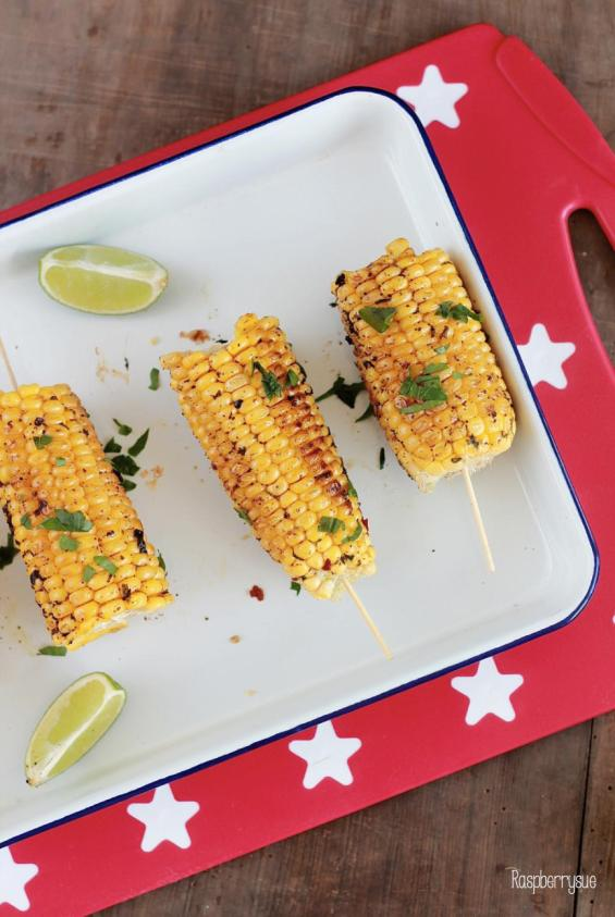 Grilled Chili Lime Corn 3