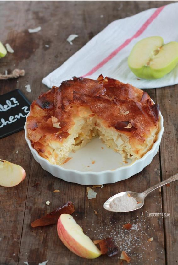 15-Minuten Mini Apfelstrudel-Kuchen – Raspberrysue