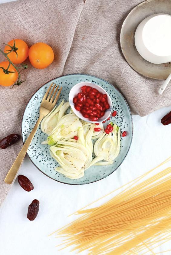 Fenchel-Pasta mit Dill und Orange 1