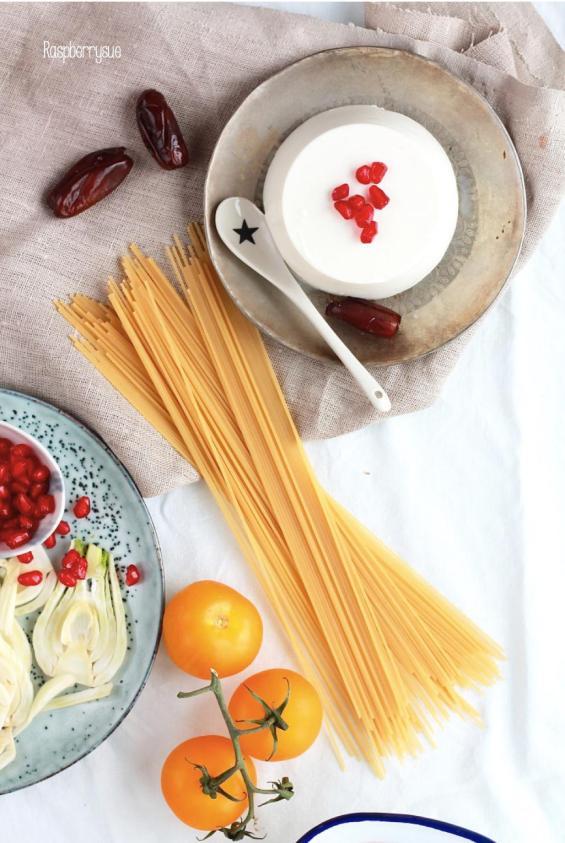 Fenchel-Pasta mit Dill und Orange 2