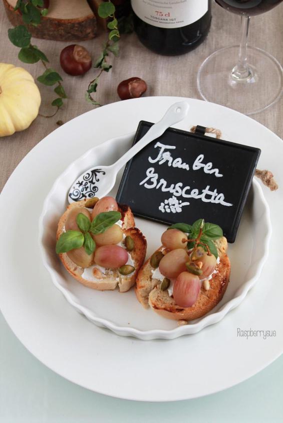 trauben-bruschetta-vorspeise